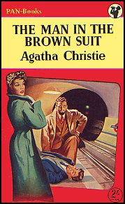 PAN 250 The Man In The Brown Suit Agatha Christie