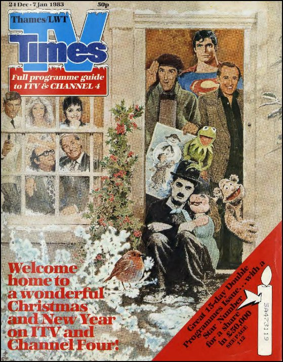 Image result for tv times christmas 1983