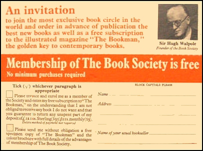 Join The book Society