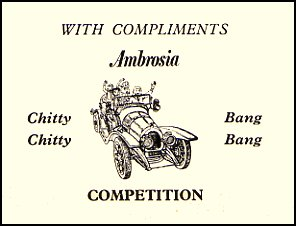 Chitty Chitty Competition