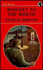 Maigret To The Rescue Dustjacket