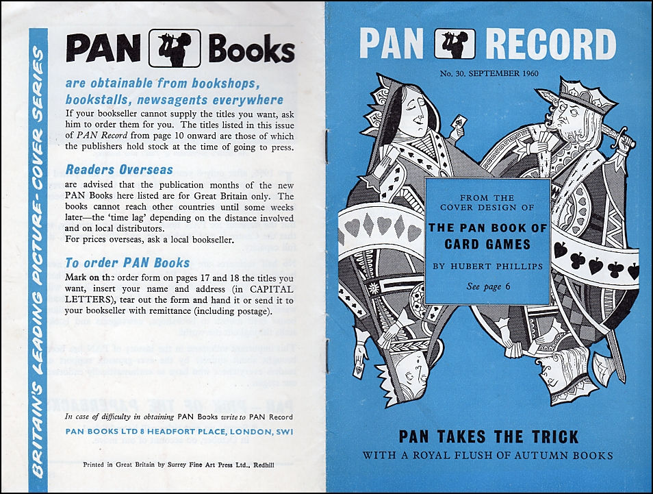 PAN Book of Card Games